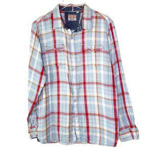 True Grit Men's Plaid Long Sleeve Shirt